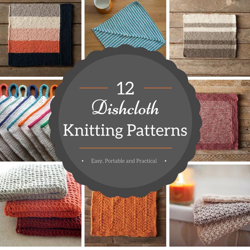 12 Dishcloth Knitting Patterns Knit Om