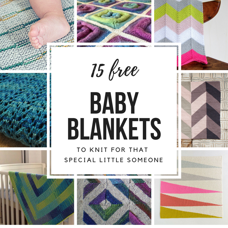 15 FREE Baby Blanket Knitting Patterns – Knit Om